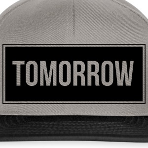 Tomorrow_Black - Snapback Cap