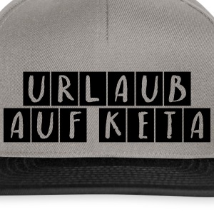 Holiday Keta black - Snapback Cap