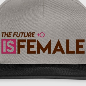 The Future is Female - Snapback Cap