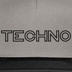 Techno - Snapback-caps