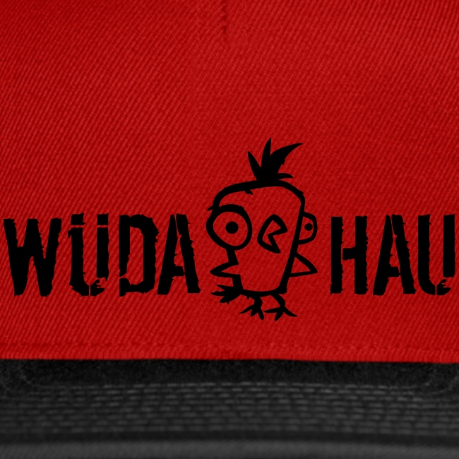 Vorschau: Wüda Hau - Snapback Cap