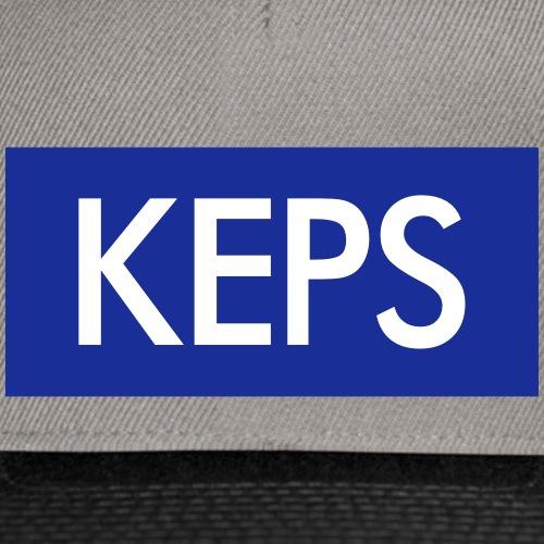 BLÅVITT KEPS - Snapbackkeps