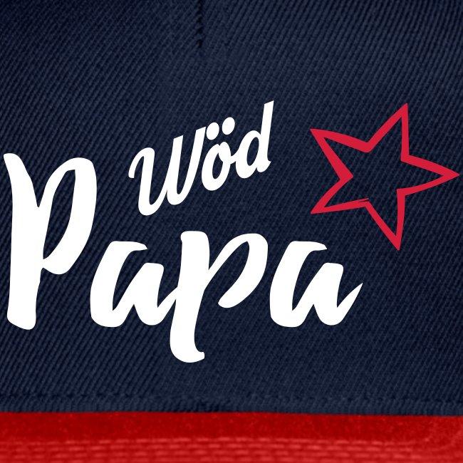 Vorschau: Wöd Papa - Snapback Cap