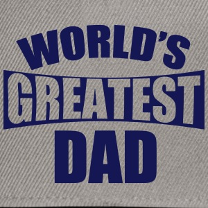 World's Best Father - Snapback Cap