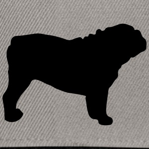 ENGLISH BULLDOG - ENGLISH BULLDOG Silhouette - Snapback Cap