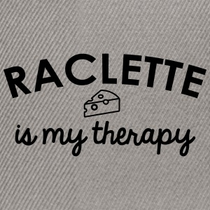 Raclette is mijn therapie - Snapback cap