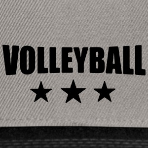 Volleyball T-shirt - beach volleyball shirt - team - Snapback Cap
