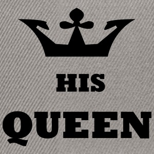 His_Queen King and Queen - Snapback Cap