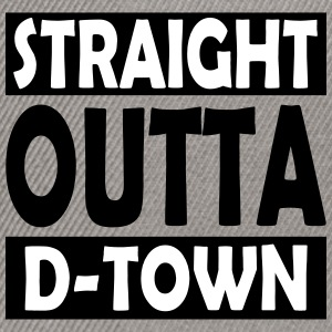 Straight Outta D-Town - Snapback Cap