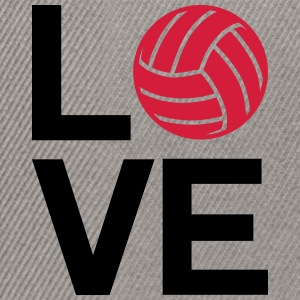 love volleyball - Snapback Cap
