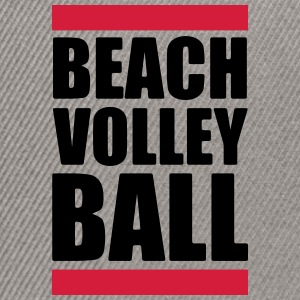 Volleyball T-Shirt - Beach Volleyball - Beach - Snapback Cap