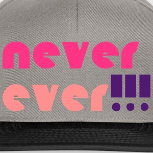 neverever feminine - Snapback-caps