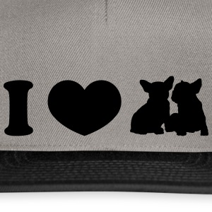 I ♥ frenchies - Casquette snapback