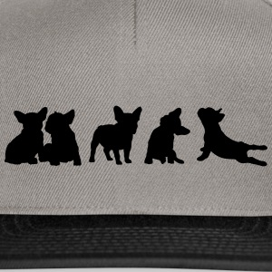 Frenchie Collection - libera scelta del colore - Snapback Cap