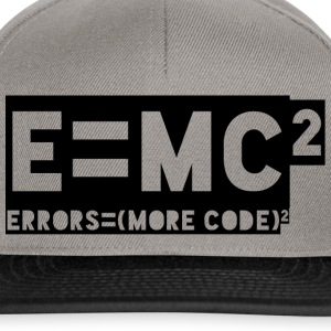 E = mc2 - errors = (more code) 2 - Snapback Cap