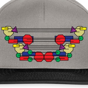 Abstract Design 004 - Snapback cap