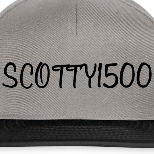 Scotty1500 Hat (Grey) - Snapback Cap