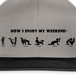 how_i_enjoy_my_weekend - Snapback Cap