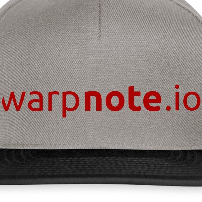 WarpNote Schriftzug
