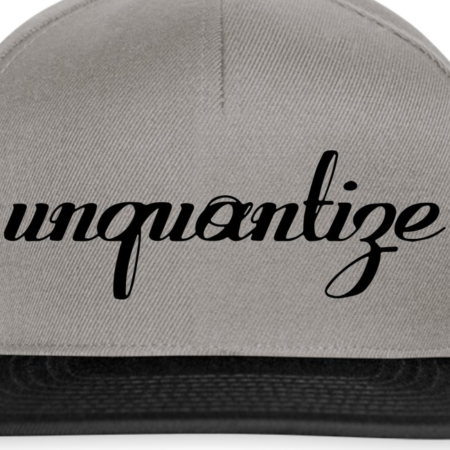 unquantize black logo