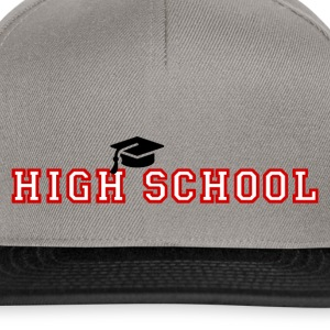 High School - Snapback Cap