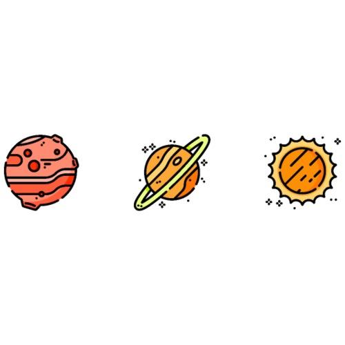 Planet Design - Snapback Cap