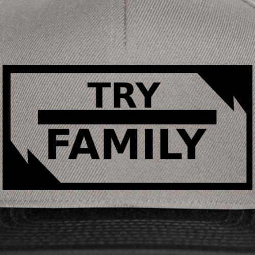 TryFamily_Kappie_black - Snapback Cap