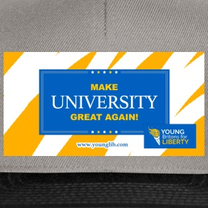MUGA: Fare Università Great Again - Snapback Cap