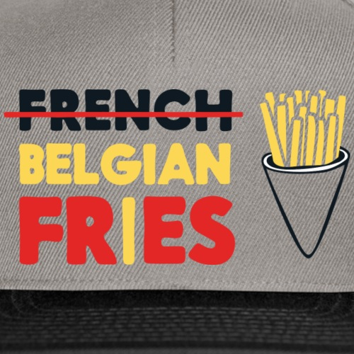 Vote for Belgian Fries - Casquette snapback