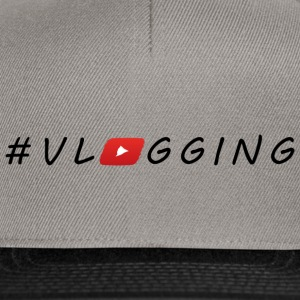 YouTube #Vlogging - Casquette snapback