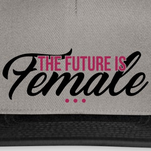 The Future is Female - muttertag - Snapback Cap