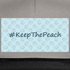 Hashtag Keep The Peach - Snapback Cap