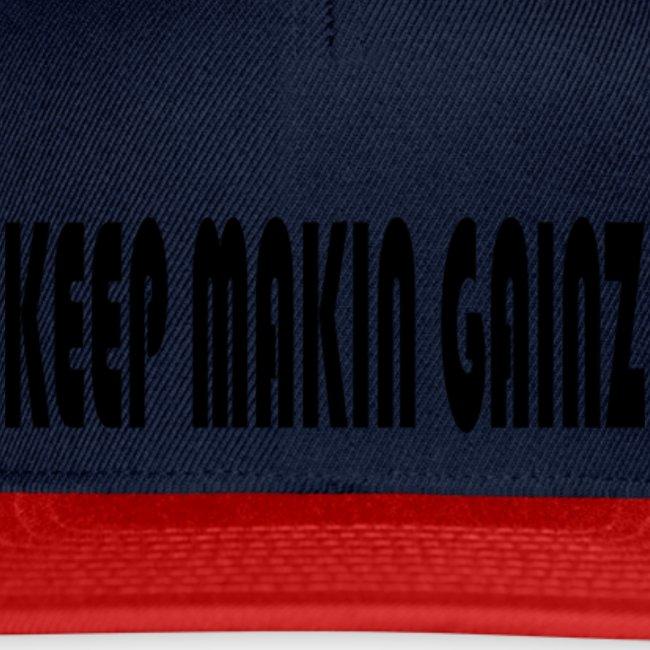KeepMakinGainz_black