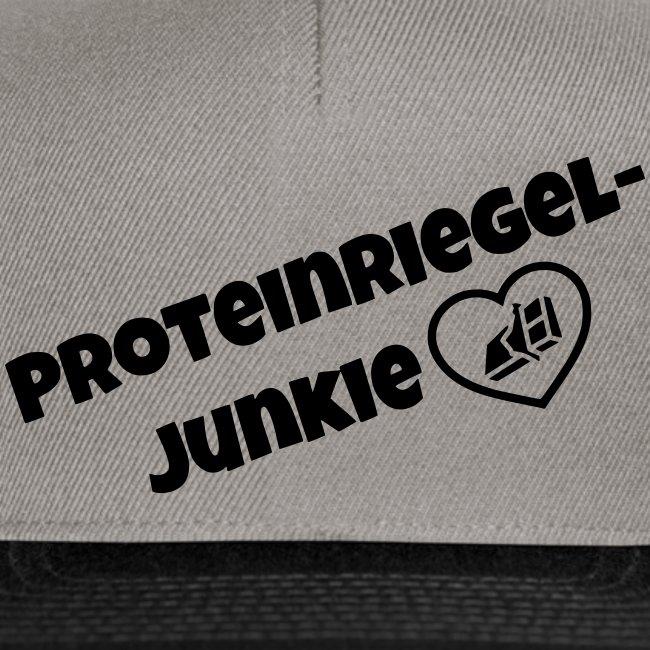 Proteinriegel Junkie Logo mit Riegelherz
