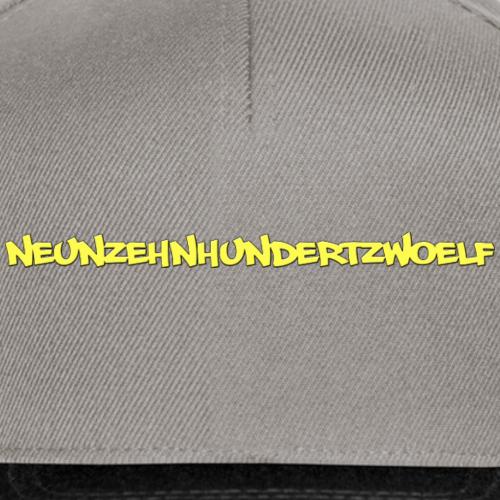NEUNZEHNHUNDERTZWOELF - Snapback Cap