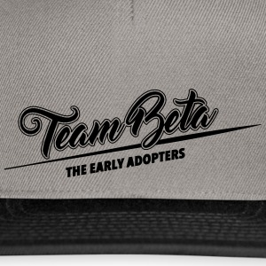Lag Beta - tidlig adopters - Snapback-caps
