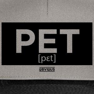 Obvious / Pet Kader zwart - Snapback cap