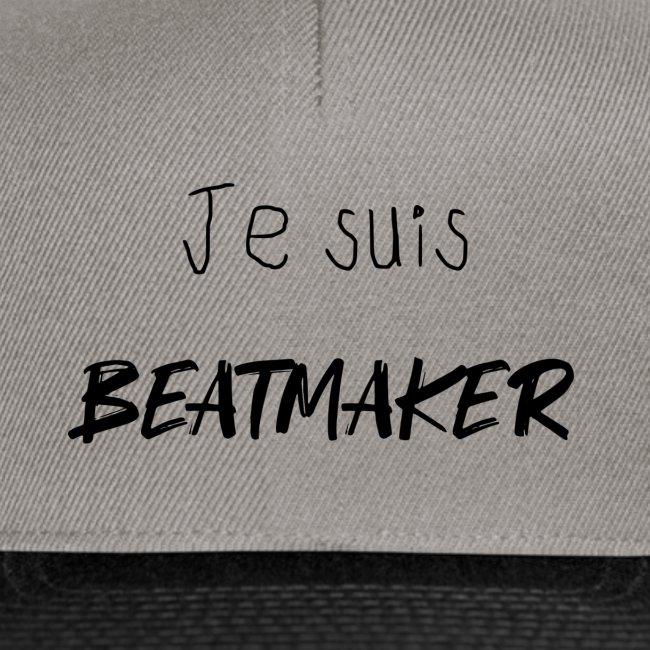 Je suis BEATMAKER (black)