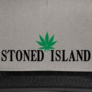 STONED ISLANDE SHIRT WEED - Casquette snapback