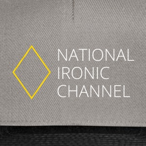 Ironisk National Channel - langærmet T-shirt - Snapback Cap