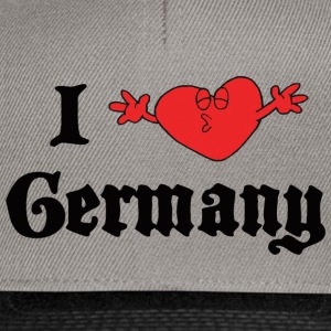 I Love Germany - Snapback-caps