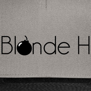 Blonde pm - Snapback Cap