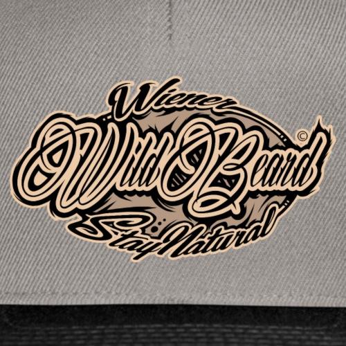 WildBeard Brand SePia - Snapback Cap
