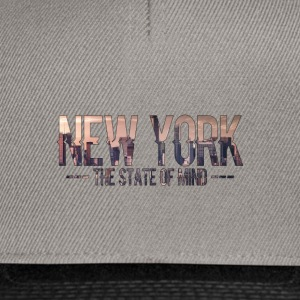 New York - The state of mind - Snapback cap