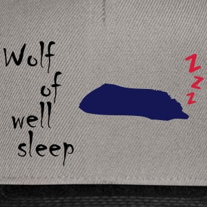 Wolf of (Wall Street) e il sonno - Snapback Cap