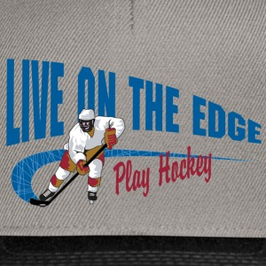 Play Hockey Live On The Edge - Snapback Cap