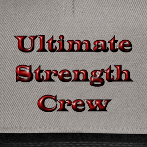 Ultimate Strength Crew - Snapback Cap