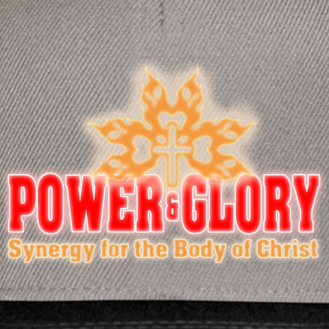 Power and Glory Logo glow red and orange