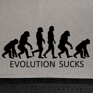++ ++ Evolution Sucks - Casquette snapback
