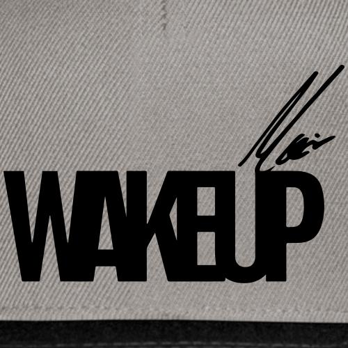 WAKEUP - Snapback Cap